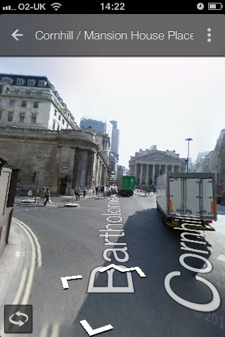 iOS 6 Google Maps App Street View