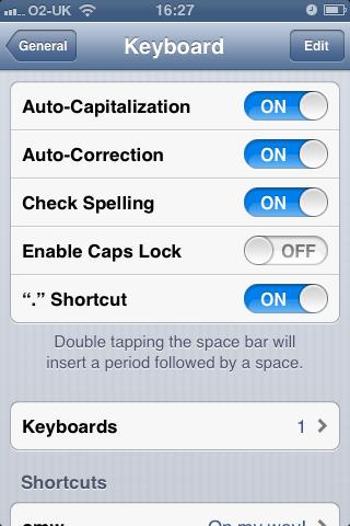 iOS6 Auto-Correction
