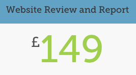 Website Review and Report for £149