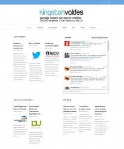 Kingston Valdes - WordPress Website