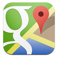 iOS Google Maps App