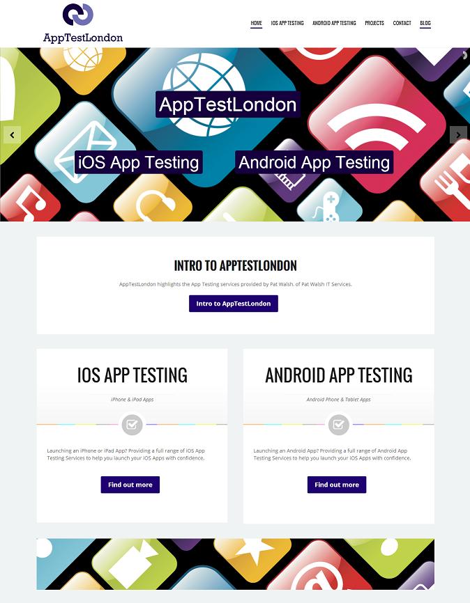 AppTestLondon Website
