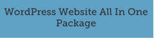 WordPress Website All In One Package from £499
