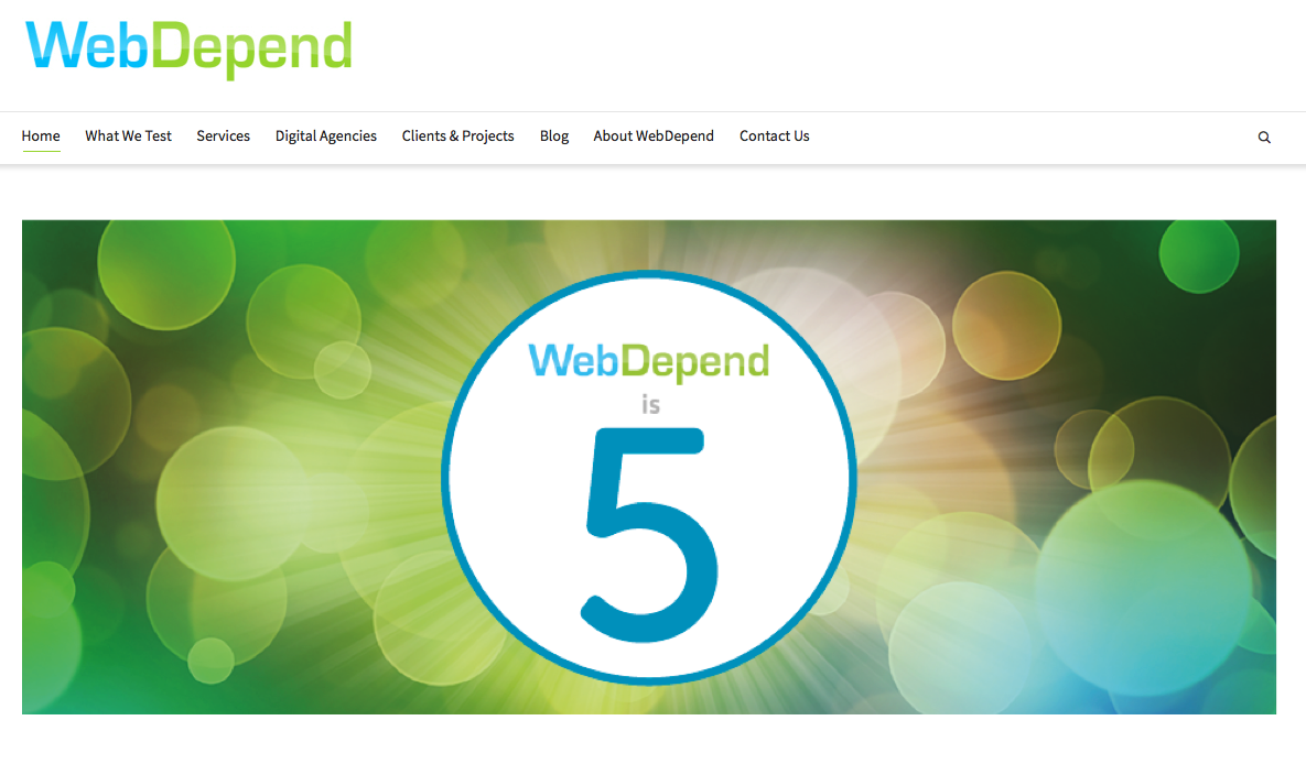 WebDepend-homepage