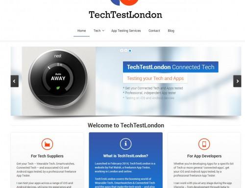 TechTestLondon website launched