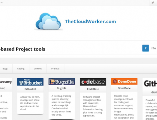 TheCloudWorker.com website