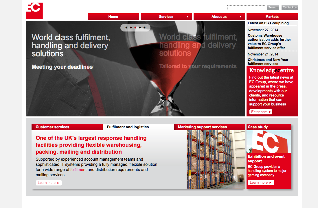 EC-Group-homepage