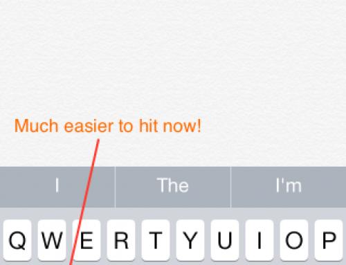 Quick tip – Improving the iPhone Keyboard in iOS 8