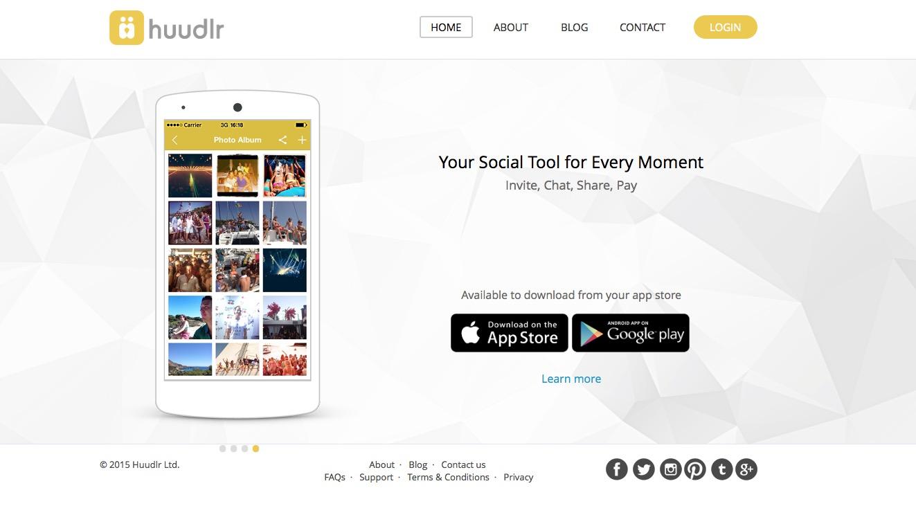 Huudlr-website