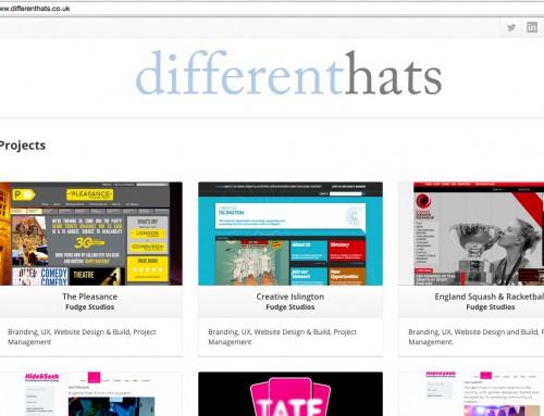 Different Hats website