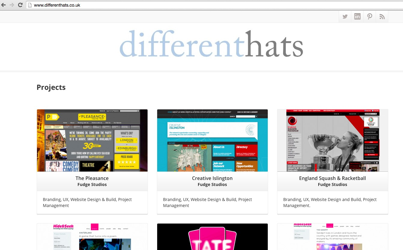 DifferentHats-homepage