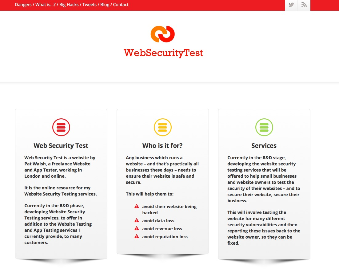 WST-homepage
