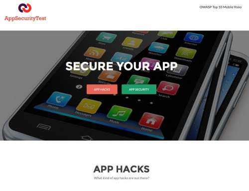 App Security Test website