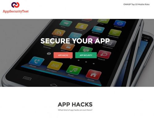 App Security Test website