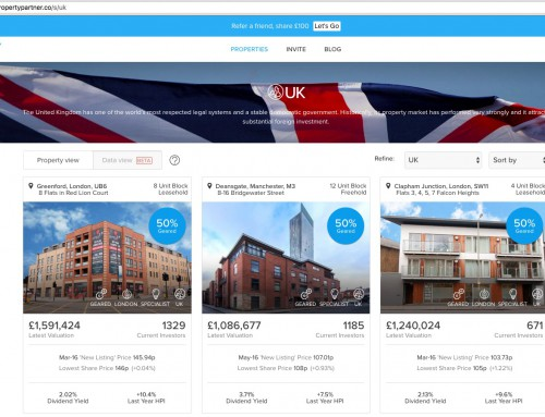 Property Partner PropTech Website Testing