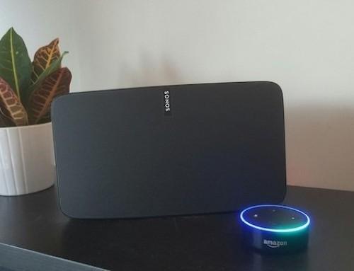 Adding voice control to Sonos speakers