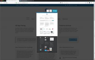 Firefox Quantum screenshot tool