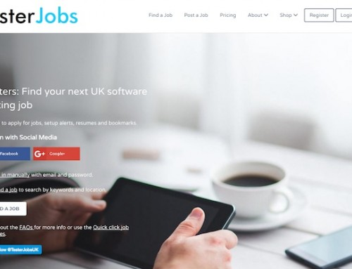 Introducing TesterJobs.co – my UK software testing jobs website