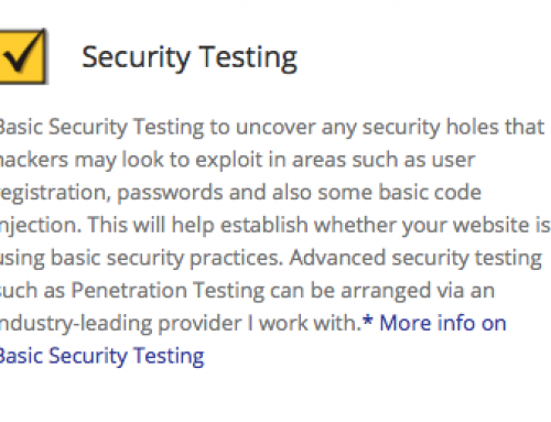 Basic Security Testing
